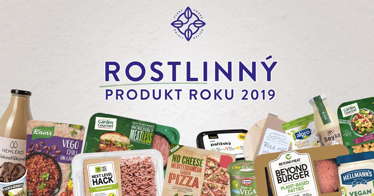Rostlinný produkt roku 2018